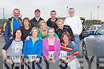 TOGETHER: The Fenit resident sticking together in the Banna Triathlon on Saturday in Banna, Front l-r: Mary Tobin, Marie lenihan, Helen Fin and Hazel Reid. 2nd row l-r: Rose Moriarty, Charlotte Doyle, Ann Marie Horgan (Fenit). Back l-r: James Mccarthy, John Moriarty, Frank McIntyre and Noel Cronin 9Fenit)...