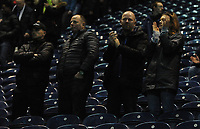 Preston North End fans applaud their team at the final whistle <br /> <br /> Photographer Kevin Barnes/CameraSport<br /> <br /> The EFL Sky Bet Championship - Preston North End v Leeds United -Tuesday 9th April 2019 - Deepdale Stadium - Preston<br /> <br /> World Copyright &copy; 2019 CameraSport. All rights reserved. 43 Linden Ave. Countesthorpe. Leicester. England. LE8 5PG - Tel: +44 (0) 116 277 4147 - admin@camerasport.com - www.camerasport.com