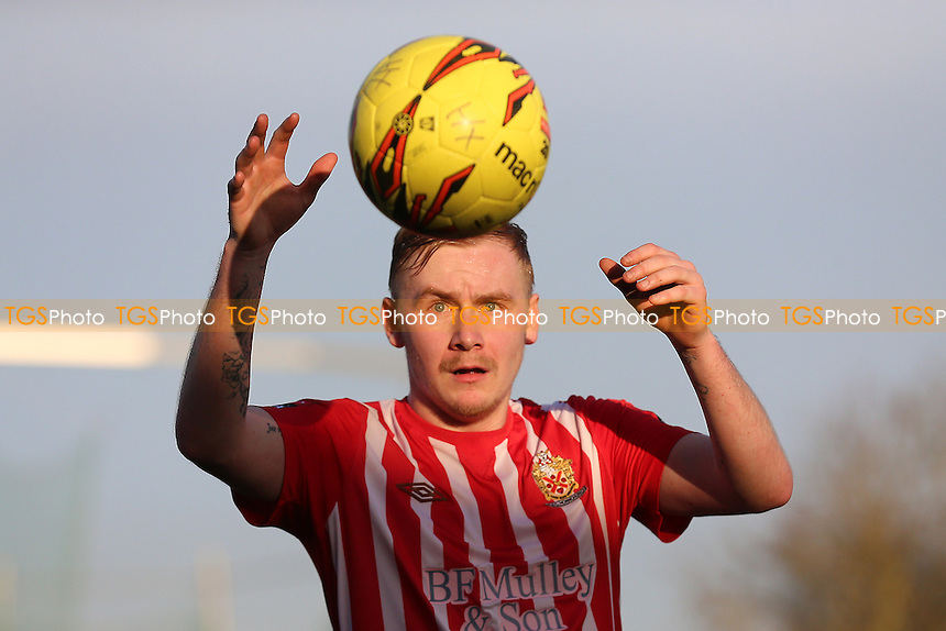 Teddy Nesbitt of Hornchurch during AFC Hornchurch vs Romford, Ryman League Division 1 North Football at Hornchurch Stadium on 4th February 2017