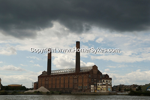 Chelsea Creek development site. The Lots Road Power Station. Lots Road Chelsea. London UK