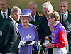 QUEEN ELIZABETH'S HORSE TESTS POSTIVE FOR BANNED DRUG<br /> The Queen&rsquo;s racehorse Estimate has sensationally tested positive for Morphine.<br /> Buckingham Palace confirmed that the prohibited substance was  detected in a sample taken from the five-year-old mare after she finished second to Leading Light in the Ascot Gold Cup.<br /> The horse could now be stripped of its second-place finish in the 2014 Gold Cup, which would mean the Queen would also forfeit the &pound;80,625 prize money for the second-placed horse.<br /> The five-year-old filly trained by Newmarket based Sir Michael Stoute.<br /> Picture Shows: The Queen and Duke of Edinburgh with Sir Michael Stoute and Estimate's jockey Ryan Moore.<br /> <br /> <br /> QUEEN WINS QUEEN'S VASE AT ROYAL ASCOT.<br /> The Queen was a winner with her horse Estimate in the second last race of the day.<br /> The trophy was presented to her by Prince Philip, Day 4 Royal Ascot, Ascot_22/06/2012<br /> Mandatory Credit Photo: &copy;Dias/NEWSPIX INTERNATIONAL<br /> <br /> **ALL FEES PAYABLE TO: &quot;NEWSPIX INTERNATIONAL&quot;**<br /> <br /> IMMEDIATE CONFIRMATION OF USAGE REQUIRED:<br /> Newspix International, 31 Chinnery Hill, Bishop's Stortford, ENGLAND CM23 3PS<br /> Tel:+441279 324672  ; Fax: +441279656877<br /> Mobile:  07775681153<br /> e-mail: info@newspixinternational.co.uk