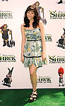 "UNIVERSAL CITY, CA. - May 16: Lucy Schwartz arrives at the ""Shrek Forever After"" Los Angeles Premiere at Gibson Amphitheatre on May 16, 2010 in Universal City, California."