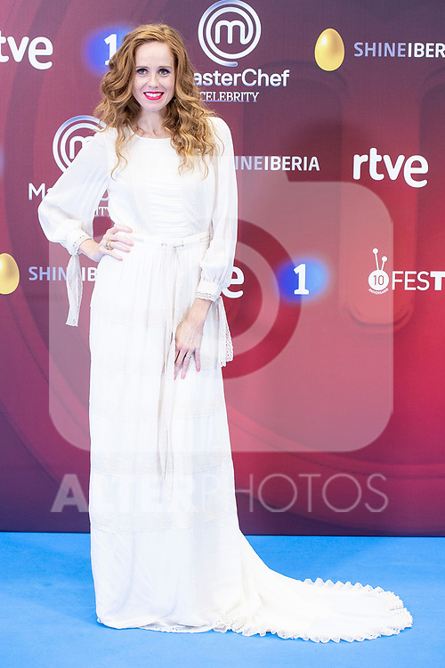 Maria Castro attends to presentation of 'Master Chef Celebrity' during FestVal in Vitoria, Spain. September 06, 2018. (ALTERPHOTOS/Borja B.Hojas)