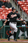 May 9, 2009:  Designated Hitter Matt Wieters of the Norfolk Tides, International League Class-AAA affiliate of the Baltimore Orioles, at bat during a game at Coca-Cola Field in Buffalo, FL.  Photo by:  Mike Janes/Four Seam Images