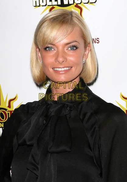 JAIME PRESSLY .3rd Annual Hot in Hollywood, held at Avalon, Hollywood, California, .USA, 16 August 2008..portrait headshot Jamie black blouse scarf shirt .CAP/ADM/FS.©Faye Sadou/Admedia/Capital Pictures