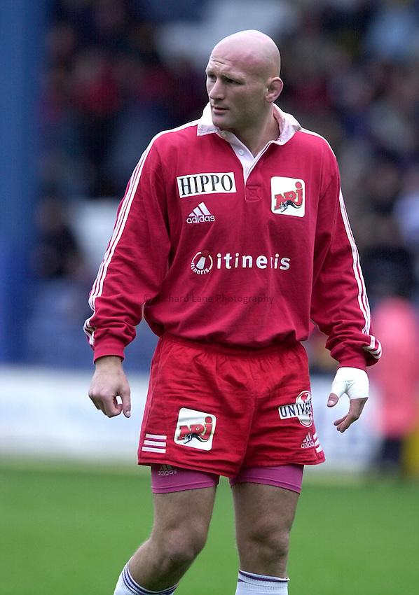 Photo. Richard Lane. .Wasps v Stade Francais. Heineken Cup. 29/10/2000.Christophe Moni.