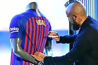 Futbol 2018 ESPAÑA Arturo Vidal es presentado en el Barcelona