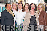 Claire O'Sullivan Darcy, Lissivigeen, Killarney and Kent, England, pictured with Miriam, Deirdre, Riona, Joanne and Caroline O'Sullivan Darcy as she celebrated her hen night in Killarney on Saturday night.