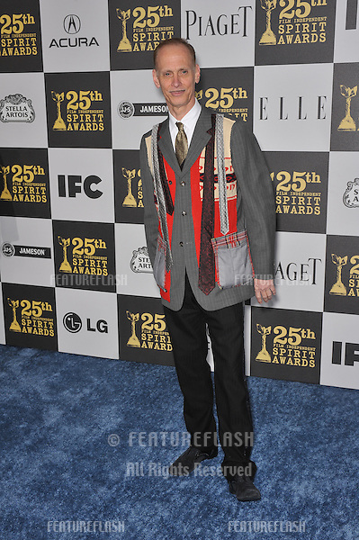 John Waters at the 25th Anniversary Film Independent Spirit Awards at the L.A. Live Event Deck in downtown Los Angeles..March 5, 2010  Los Angeles, CA.Picture: Paul Smith / Featureflash