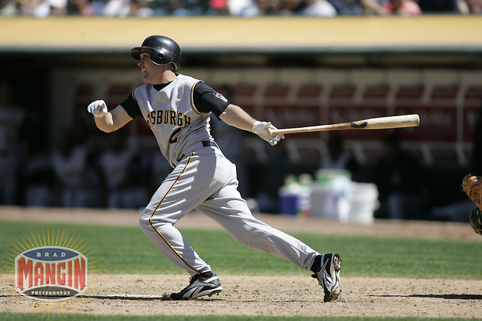 Jack Wilson. Baseball: Pittsburgh Pirates vs Oakland Athletics. Oakland, CA 6/12/2004 MANDATORY CREDIT: Brad Mangin