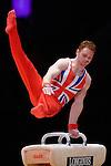 World Championships Gymnastics Mens All Around Final  2015 SSE Hydro Arena. .Dan Purvis