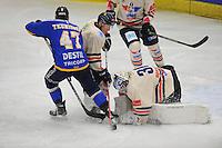 IJSHOCKEY: EINDHOVEN: IJssportcentrum, 11-01-2015, Bekerfinale Destil Trappers Tilburg - UNIS Flyers Heerenveen, uitslag 5-2, ©foto Martin de Jong