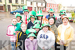 PARADE: Committee members and sponsors of the St Patrick's Day Parade in Glenbeigh including Anna Cahill, Jessie Griffin, Shauna Sheahan, Amie Griffin, Joanne Murphy, John Quirke, Anne Griffin, Breda O'Shea, Maureen Riordan, Veronica Sugrue, Peadar O'Sullivan, Kirwan Keary.