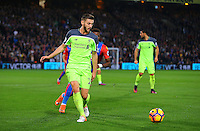Adam Lallana during the EPL - Premier League match between Crystal Palace and Liverpool at Selhurst Park, London, England on 29 October 2016. Photo by Steve McCarthy.