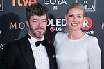 Pablo Heras and Anne Igartiburu attends red carpet of Goya Cinema Awards 2018 at Madrid Marriott Auditorium in Madrid , Spain. February 03, 2018. (ALTERPHOTOS/Borja B.Hojas)