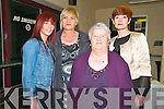 NOrth Kerry Makeover Fashion Show: Attending the North Kerry Ma=keover Fashion Show on Thursday night last at the Listowel Sports Centre were Eileen Lynch, Patricia O'Flaherty, Betty Heaphy & Aquinas O'Donnell,