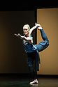 "London, UK. 22.06.2014. Eastman/Sidi Larbi Cherkaoui presents ""4D"", a compilation of duets from his work, as part of Sadler's Sampled, a two week taster festival of dance at low prices, which runs to 29th June. Picture shows: ""Matter"" with Guro Nagelhus Schia and Kazutomi ' Tsuki' Kozuki. Photograph © Jane Hobson."