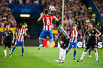 Atletico de Madrid's player Saúl Ñígez and Antoine Griezmann and Bayern Munich's player David Alaba and Xabi Alonso during match of UEFA Champions League at Vicente Calderon Stadium in Madrid. September 28, Spain. 2016. (ALTERPHOTOS/BorjaB.Hojas)