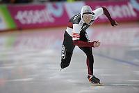 SCHAATSEN: Calgary: Essent ISU World Sprint Speedskating Championships, 28-01-2012, 500m Heren, Haralds Silovs (LAT), ©foto Martin de Jong
