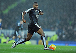 Wes Morgan of Leicester City <br /> - Barclays Premier League - Everton vs Leicester City - Goodison Park - Liverpool - England - 19th December 2015 - Pic Robin Parker/Sportimage