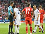 Roberto Rosetti and Giorgos Karagounis at Euro 2008, RUS-GRE, 06142008, Salzburg, Austria