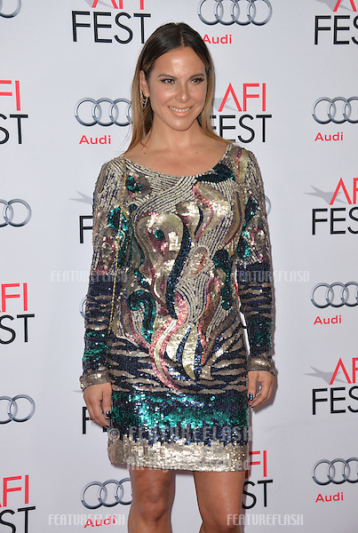 Actress Kate del Castillo at the premiere of her movie &quot;The 33&quot;, part of the AFI FEST 2015, at the TCL Chinese Theatre, Hollywood. <br /> November 9, 2015  Los Angeles, CA<br /> Picture: Paul Smith / Featureflash