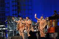 "August 25, 2011 (Washington, DC)  The Impressions performed at ""The Message in the Music"" at the Washington Convention Center on August 25, 2011. The group's first hit single was ""For Your Precious Love"", which hit #11 on the US pop charts and #3 on the R&B charts in 1958. The star studded concert was in celebration of the dedication of the Martin Luther King Jr. Memorial. (l-r) Sam Gooden (original member), Reggie Torian, Fred Cash (original member)  (Photo by Don Baxter/Media Images International)"