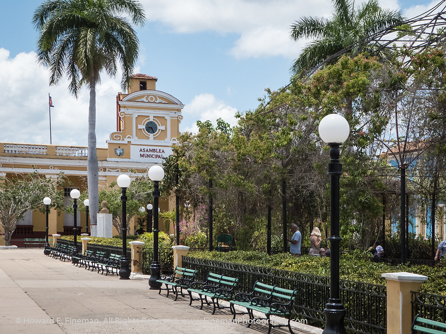 Trinidad Town Hall and Parque Jose Marti