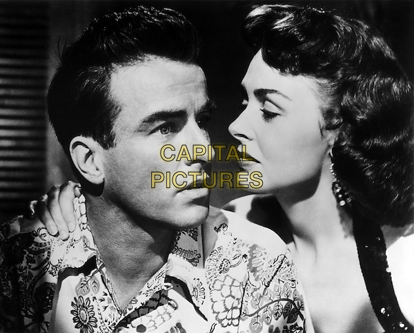MONTGOMERY CLIFT & DONNA REED .in From Here to Eternity.*Filmstill - Editorial Use Only*.CAP/PLF.Supplied by Capital Pictures.