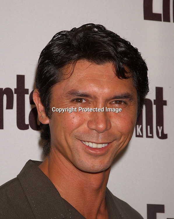 ..Lou Diamond Phillips..at the Entertainment Weekly It List party on June 23,2003 at the Roxy in New York...Photo By Robin Platzer, Twin Images
