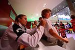 25.08.2018, …VB Arena, Bremen<br />Volleyball, LŠ&auml;nderspiel / Laenderspiel, Deutschland vs. Niederlande<br /><br />Autogrammstunde Team Deutschland / Feature - Maren Fromm (#4 GER)<br /><br />  Foto &copy; nordphoto / Kurth