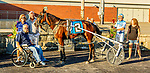 """JUNE 27, 2019 : , Jet Rock driven by Brent Holland, wins Division #1 of the $45,000 Excelsior """"A"""" Series for 3 year olds, at Yonkers Raceway, on June 27, 2019 in Yonkers, NY.  Sue Kawczynski_ESW_CSM"""