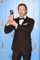 BEVERLY HILLS, CA - JANUARY 13: Damian Lewis in the press room at the 70th Annual Golden Globe Awards at the Beverly Hills Hilton Hotel in Beverly Hills, California. January 13, 2013. Credit MediaPunch Inc. /NortePhoto