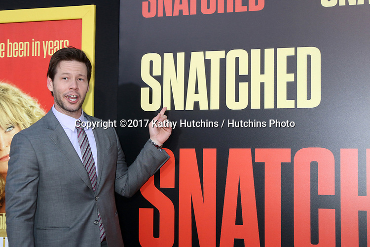 "LOS ANGELES - MAY 10:  Ike Barinholtz at the ""Snatched"" World Premiere at the Village Theater on May 10, 2017 in Westwood, CA"