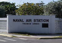 Key West is home to a thriving naval base at Truman Annex