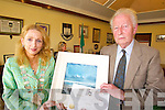 CIVIC AWARD: Renowned ornithologist, Frank King, receives a special civic award on behalf of Tralee Town Council from Mayor Miriam McGillycuddy on Friday.   Copyright Kerry's Eye 2008