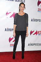 NEW YORK, NY - DECEMBER 07: Christy Turlington at Z100's Jingle Ball 2012, presented by Aeropostale, at Madison Square Garden on December 7, 2012 in New York City. NortePhoto