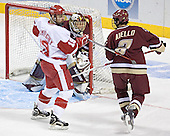 Ryan MacMurchy, Cory Schneider, Anthony Aiello - The University of Wisconsin Badgers defeated the Boston College Eagles 2-1 on Saturday, April 8, 2006, at the Bradley Center in Milwaukee, Wisconsin in the 2006 Frozen Four Final to take the national Title.