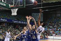 Lawrence Hill (Artland) gegen Konstantin Klein (Skyliners)- Fraport Skyliners vs. Artland Dragons Quakenbrueck, Fraport Arena Frankfurt