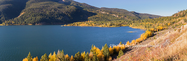 67545-09008 Lower Slide Lake in fall,  Grand Teton National Park, WY