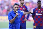 Presentation 1st team FC Barcelona 2019/2020.<br /> Ernesto Valverde.