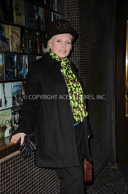 WWW.ACEPIXS.COM . . . . . .January 18, 2012...New York City....Deborah Harry attends the Cinema Society  screening of 'Haywire' at Landmark Sunshine Cinema on January 18, 2012 in New York City. ....Please byline: KRISTIN CALLAHAN - ACEPIXS.COM.. . . . . . ..Ace Pictures, Inc: ..tel: (212) 243 8787 or (646) 769 0430..e-mail: info@acepixs.com..web: http://www.acepixs.com .