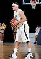Florida International University guard Steven Miro (5) plays against ULM, which won the game 54-50 on January 07, 2012 at Miami, Florida. .