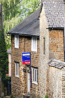 House To Let. The lack of housing affordable for local people is one of the most pressing issues facing our countryside. Culworth Northamptonshire UK..©shoutpictures.com..john@shoutpictures.com