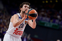 Real Madrid's Sergio Llull during Turkish Airlines Euroleague match between Real Madrid and Crvena Zvezda Mts Belgrade at Wizink Center in Madrid, Spain. March 10, 2017. (ALTERPHOTOS/BorjaB.Hojas) /NortePhoto.com