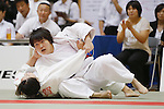 Rika Takayama, September 14, 2014 - Judo : All Japan Junior Judo Championships Women's -78kg third roundat at Saitama Prefectural Budokan, Saitama, Japan. (Photo by Yusuke Nakanishi/AFLO SPORT) [1090]