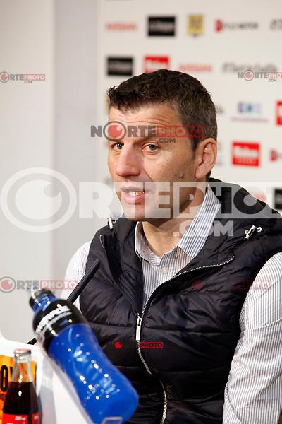 Real Valladolid´s coach Miroslav Djukic after match of La Liga 2012/13. 31/03/2013. Victor Blanco/Alterphotos /NortePhoto