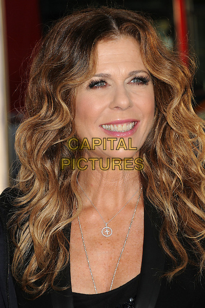 "Rita Wilson.""Larry Crowne"" Los Angeles Premiere held at Grauman's Chinese Theatre.  Hollywood, California, USA..27th June 2011.headshot portrait black smiling .CAP/ADM/BP.©Byron Purvis/AdMedia/Capital Pictures."