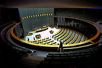 Plenário do Congresso Nacional. Brasília. 2001. Foto de Juca Martins.