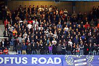 FAO SPORTS PICTURE DESK<br /> Pictured: Wednesday, 11 April 2012<br /> Re: Premier League football, Queens Park Rangers v Swansea City FC Loftus Road Stadium, London.